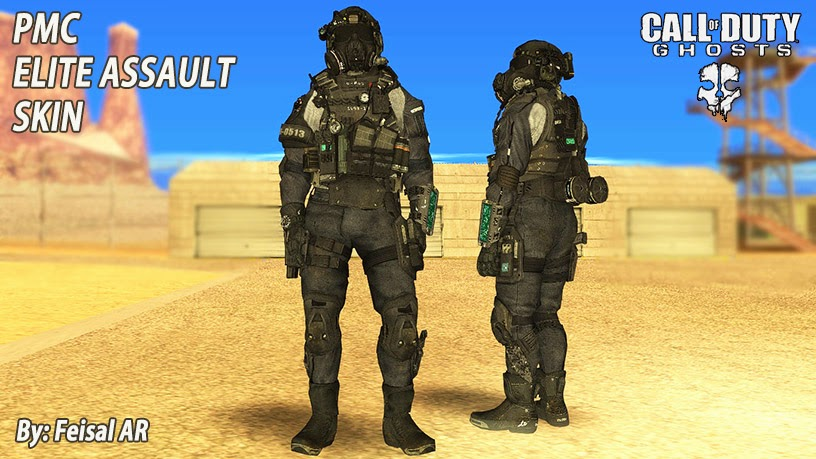 cod ghosts pmc elite gta skin