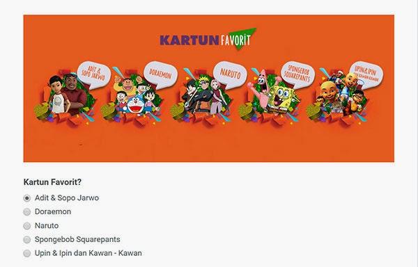 Dukung kartun favoritmu di Indonesia Kids Choice Awards 2015