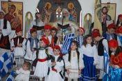 Η Εορτή του Ευαγγελισμού της Υπεραγίας Θεοτόκου στην Ενορία μας (φωτογραφίες)