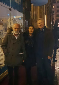 Javier Krahe, Alizia Méndez y Andreas Prittwitz