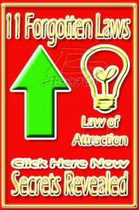 Law of Attraction - The 11 Forgotten Laws