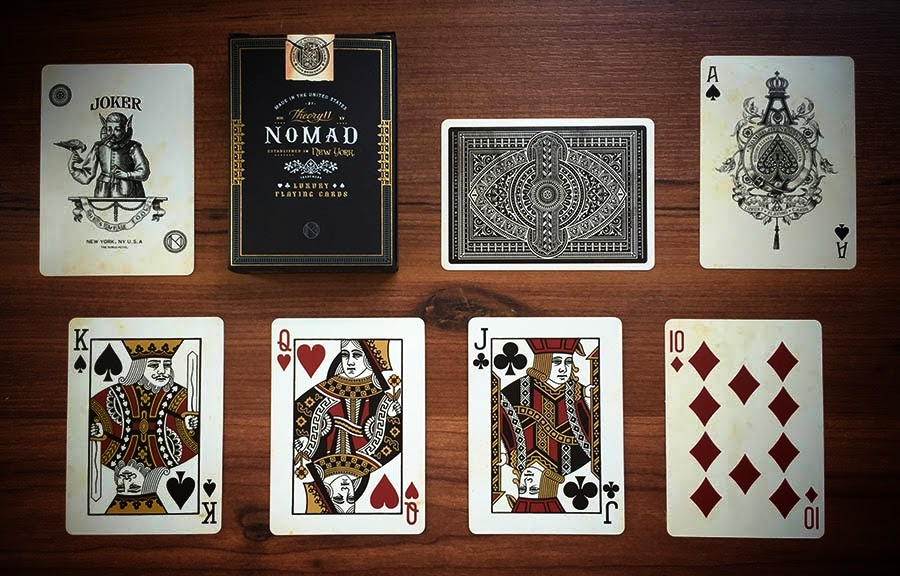 Deck View Nomad Playing Cards Kardify