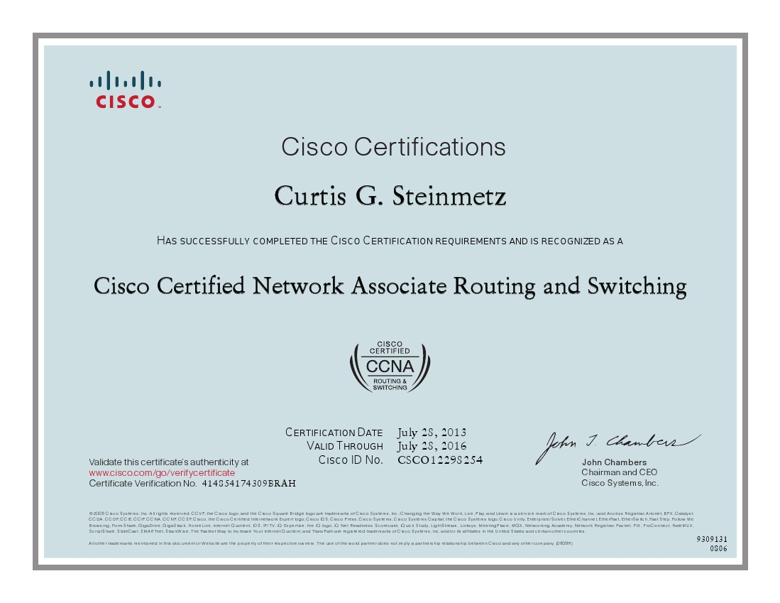 Cisco CCNA Certification Training course Certified Online Course by ...