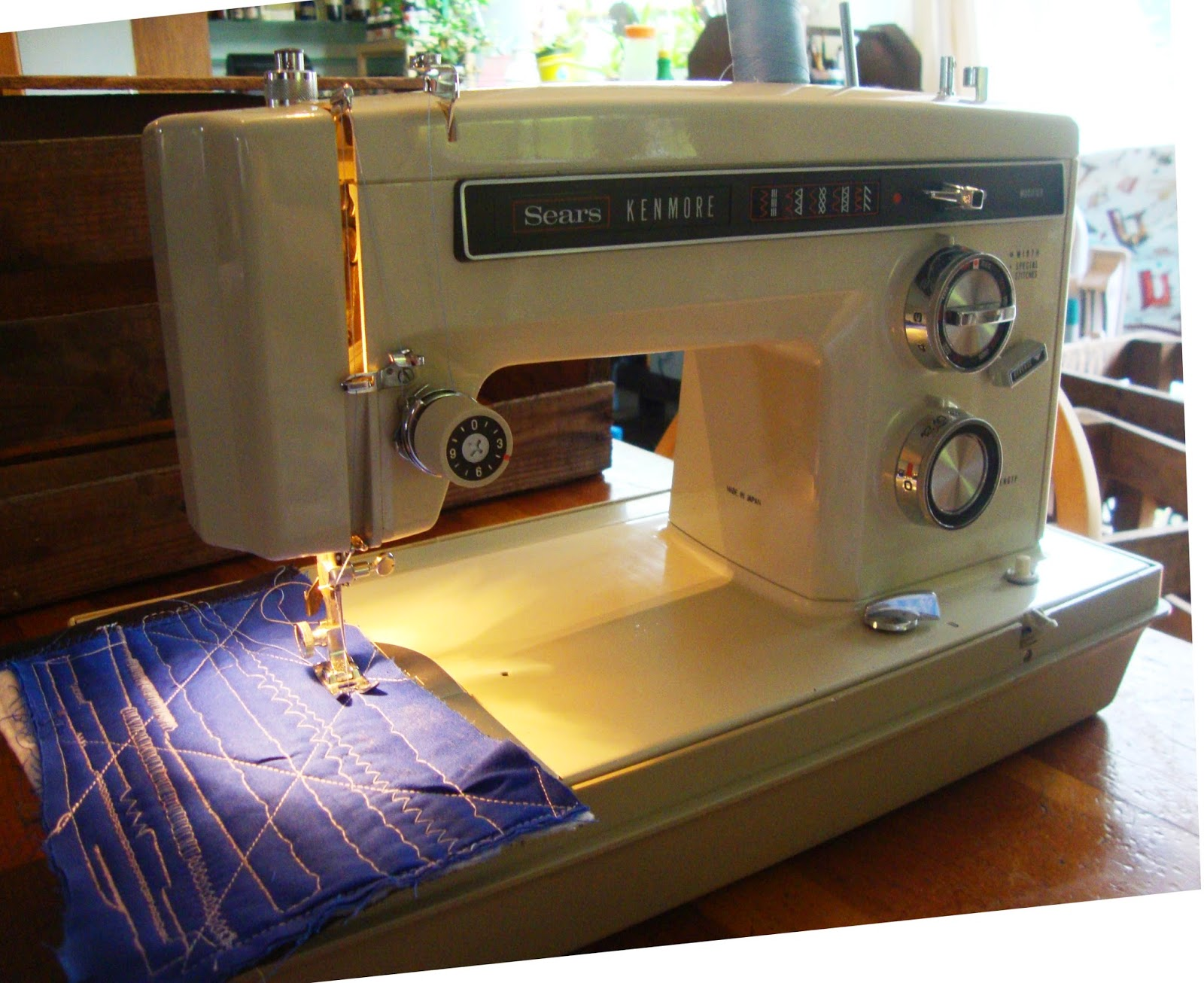 Sears coupon sewing machine