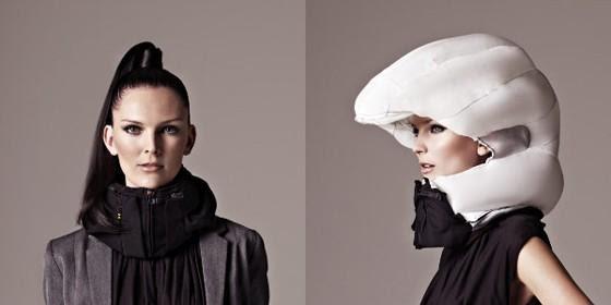 bufanda airbag ciclistas hodving, protege cuello y cabeza, sensores
