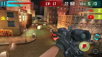 تحميل لعبة القناص للاندرويد مجانا برابط مباشر Sniper Shoot War 3D