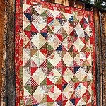 Elegant Half Square Triangles Quilt