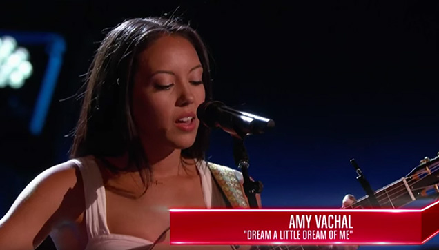 Fil-Am Amy Vachal's Wows Judges during Her Blind Audition