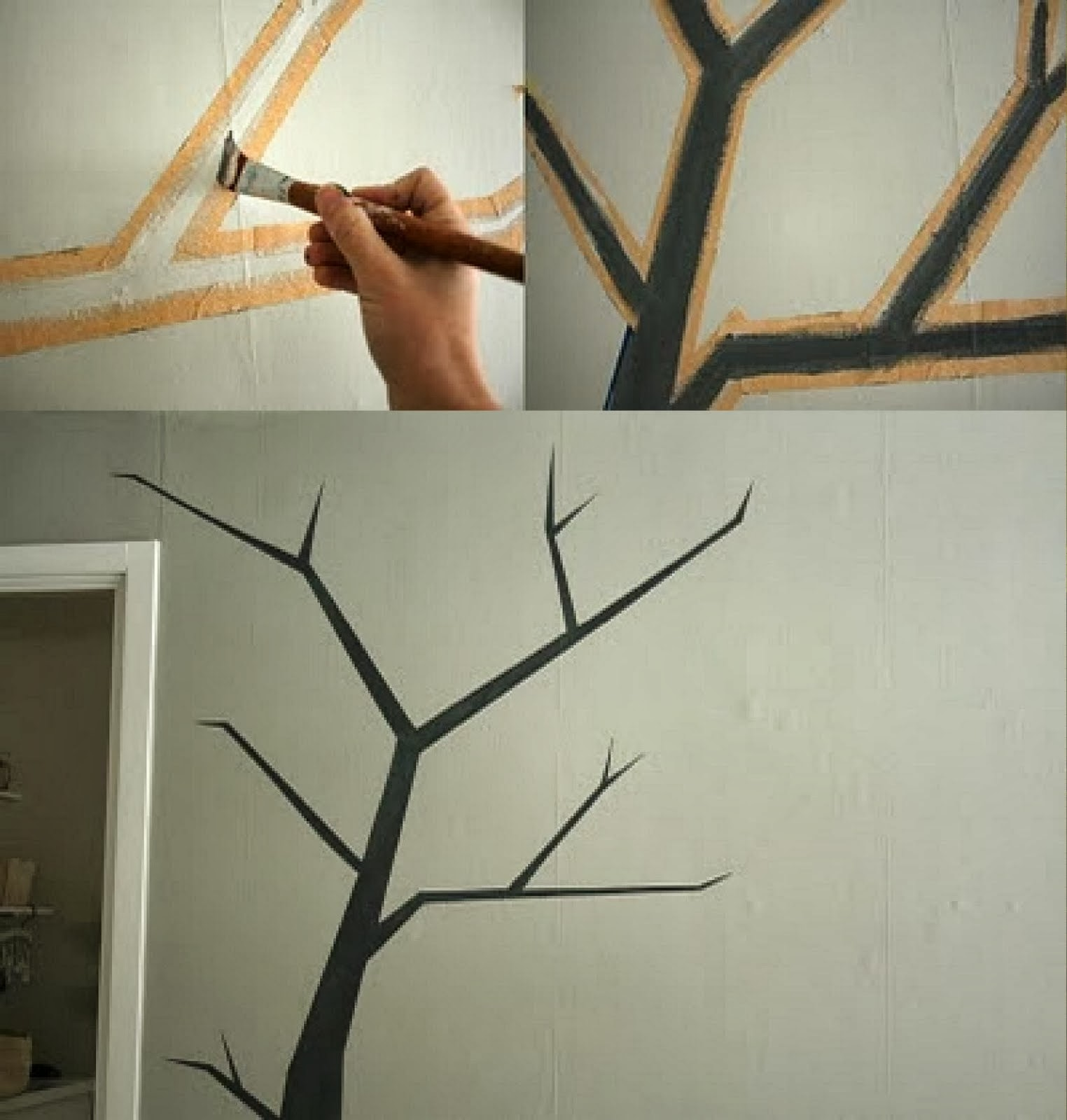 Escuela de manualidades bezaleel manual de manualidades - Pintar paredes con dibujos ...