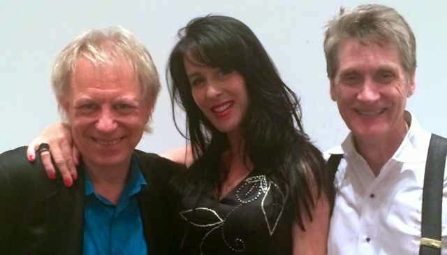 Bobby Owsinski, Adrianna Marie and guitarist LA Jones image