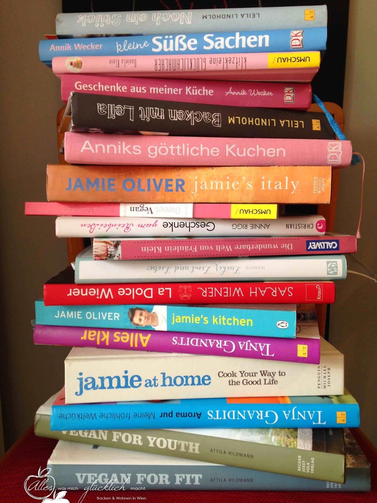 18 Backbücher – 18 Lieblingsrezepte