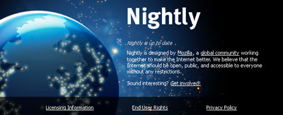 Mozilla Firefox 14.0a1 Nightly
