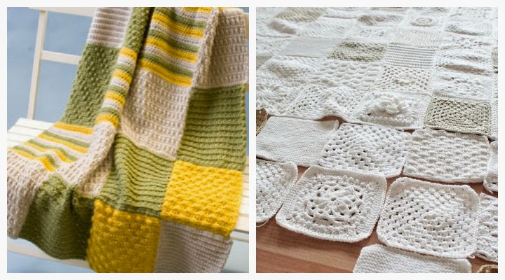 The Inspired Wren: Announcing the Crochet-Along Afghan Sampler!