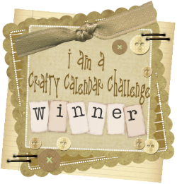 I won with my April showers gift bag on 1st May 2013