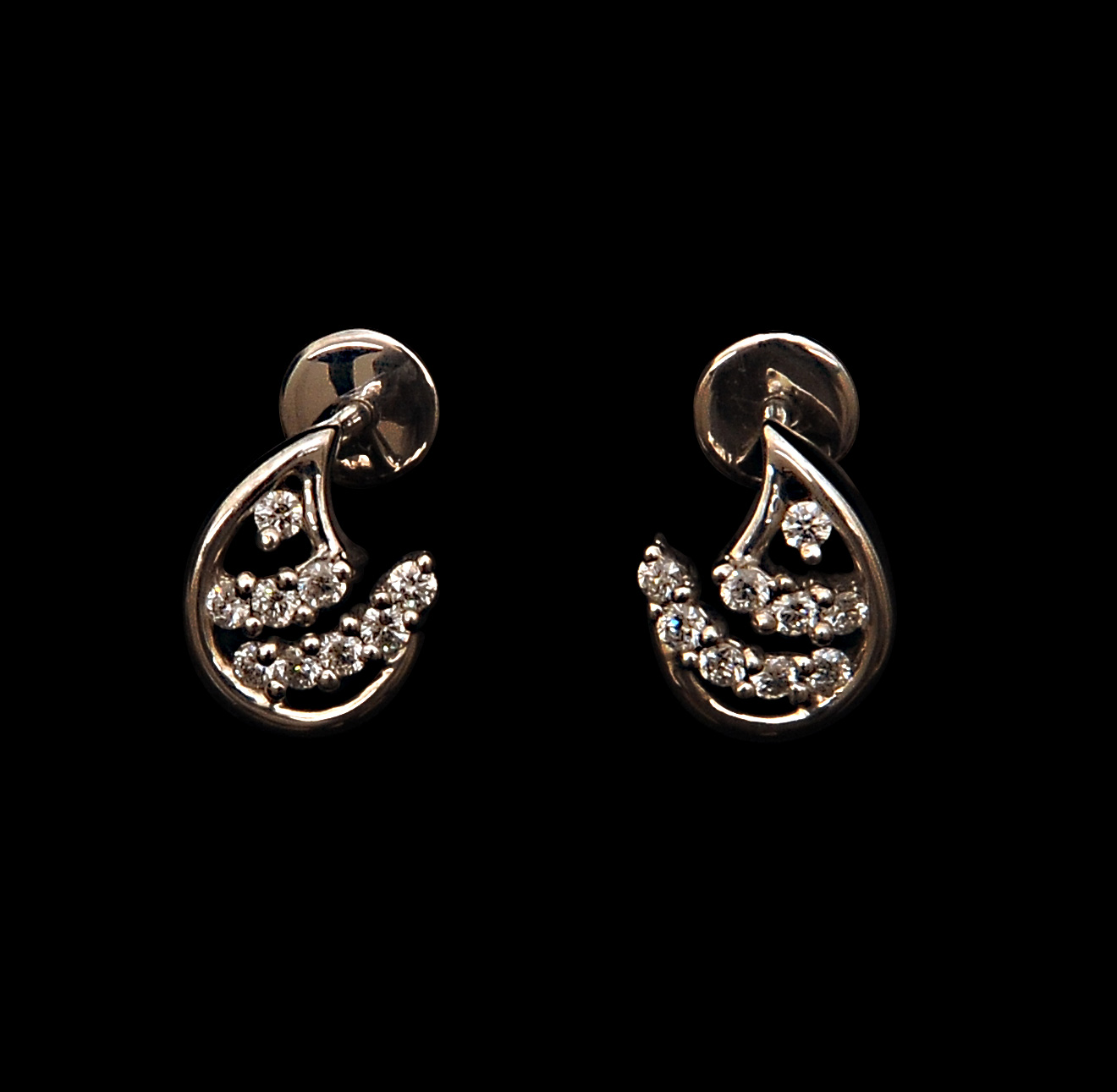 VBJ Platinum Diamond Earring Models