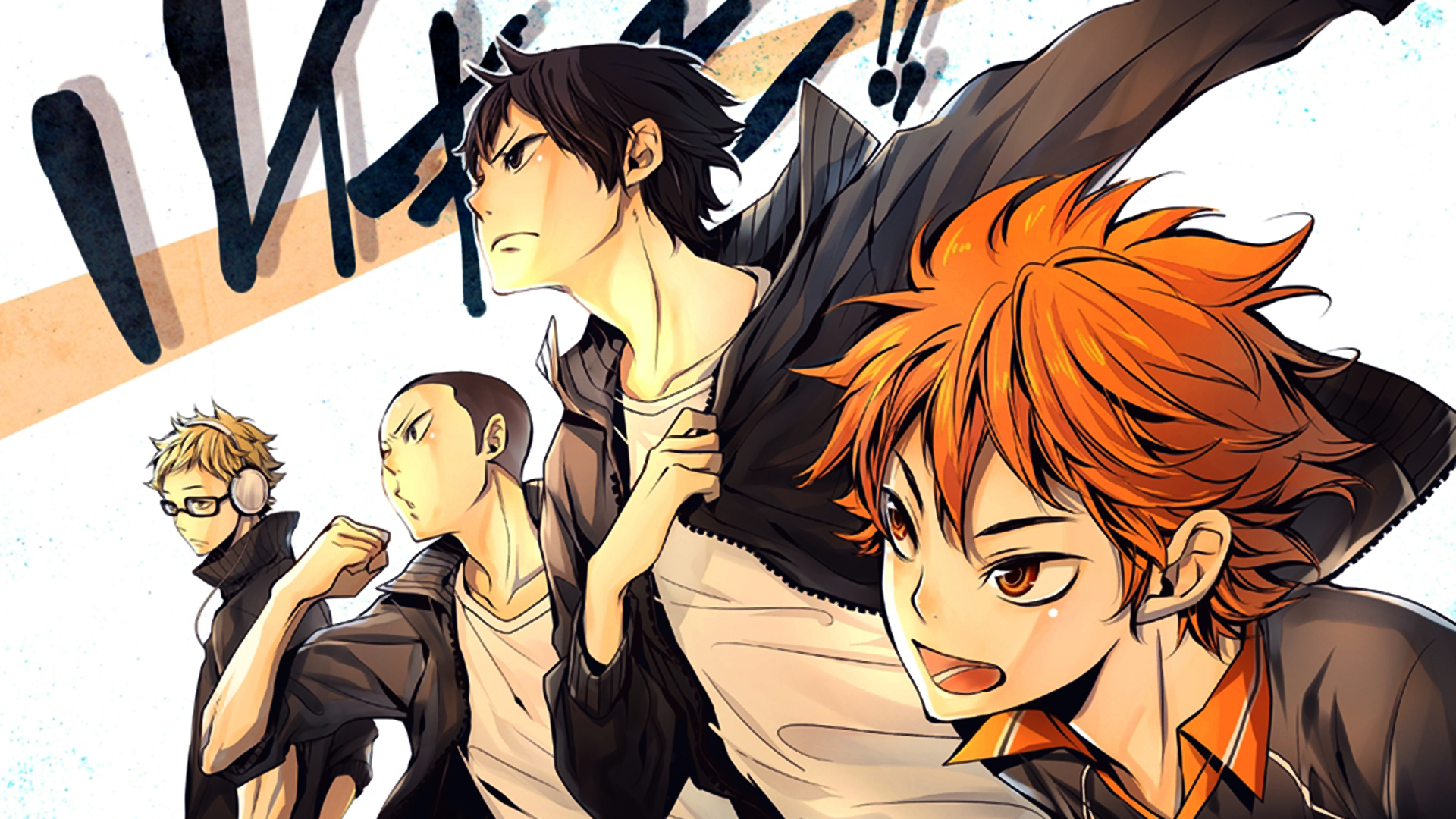 Haikyuu Anime 1920x1080 Wallpaper HD