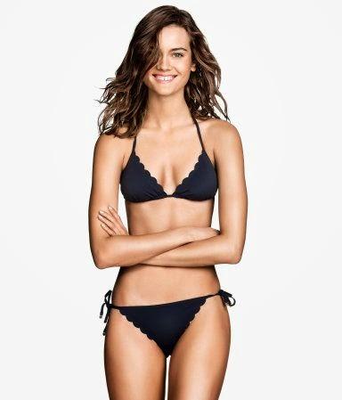 fake it til ya make it marysia swim antibes scallop bikini. Black Bedroom Furniture Sets. Home Design Ideas