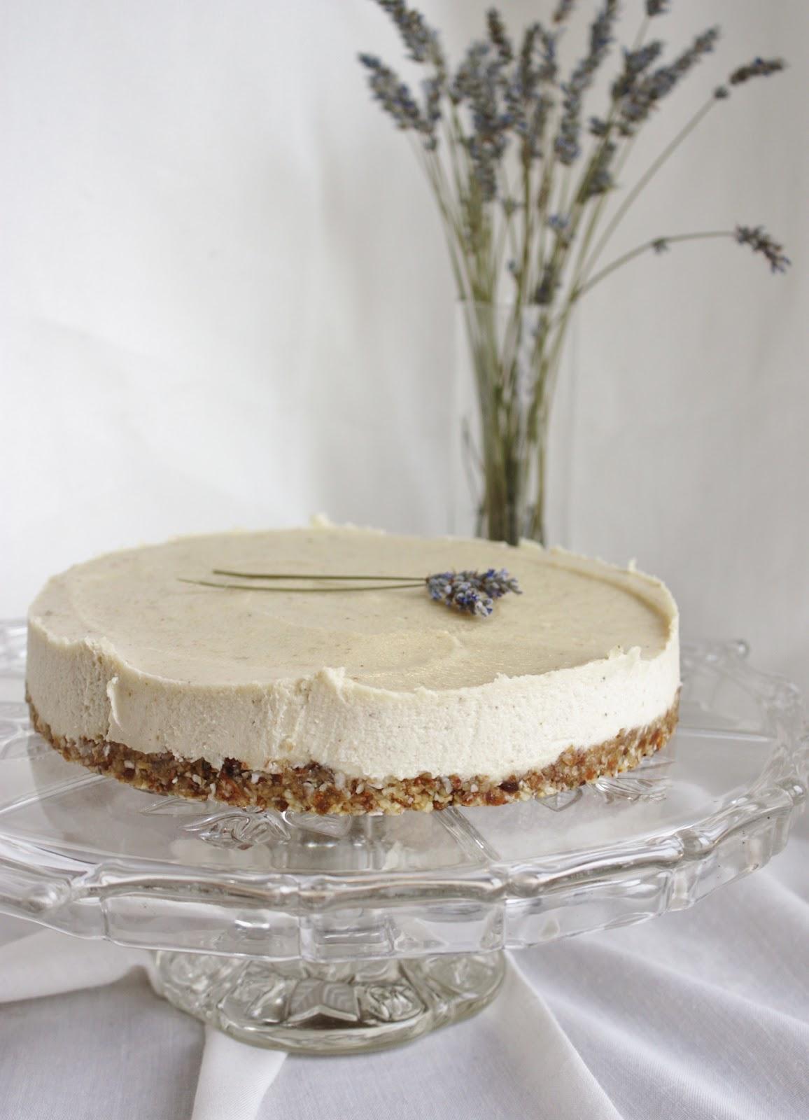 "This Rawsome Vegan Life: lavender & lemon ""cheesecake"""