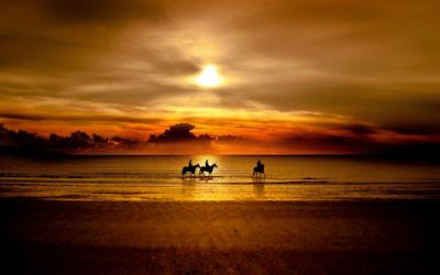 Una puesta de sol inolvidable - Recuerdos del verano - Magic sunset