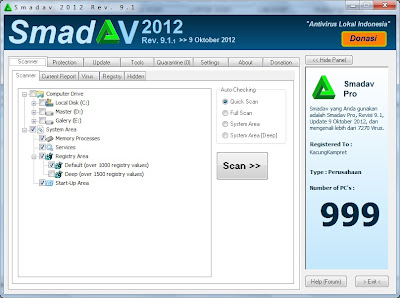 Download Smadav 9.1 PRO + Keygen Terbaru 2012