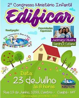 II Congresso Edificar em Cuiabá