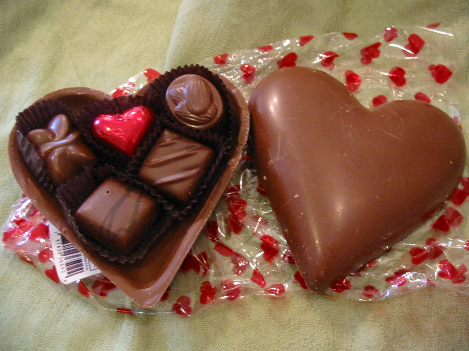 Chocolate Heart Box For Valentines 2012