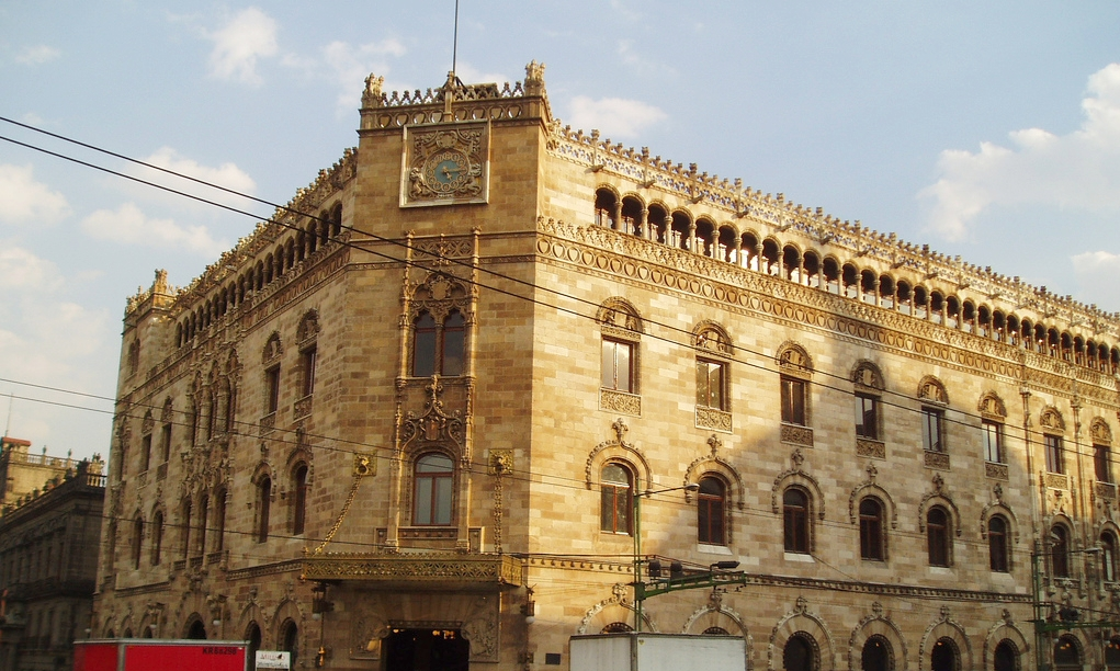 M xico portugal francia alemania y espa a arte for Edificio correos madrid