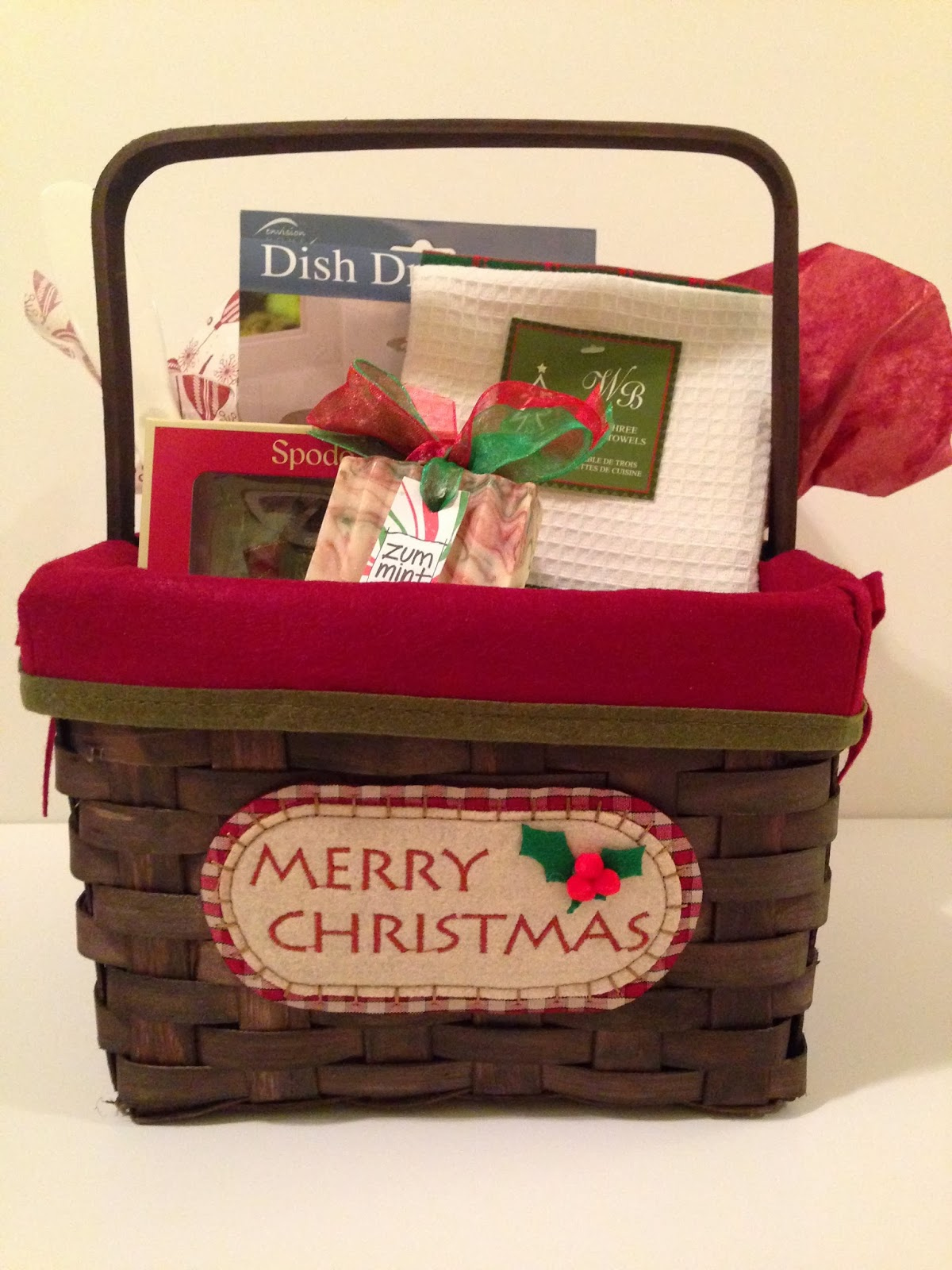 Kansas sunrise gift baskets for Christmas kitchen gift basket ideas