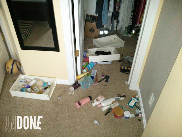 {The UNDONE Blog} Terrible Twos - epic messes