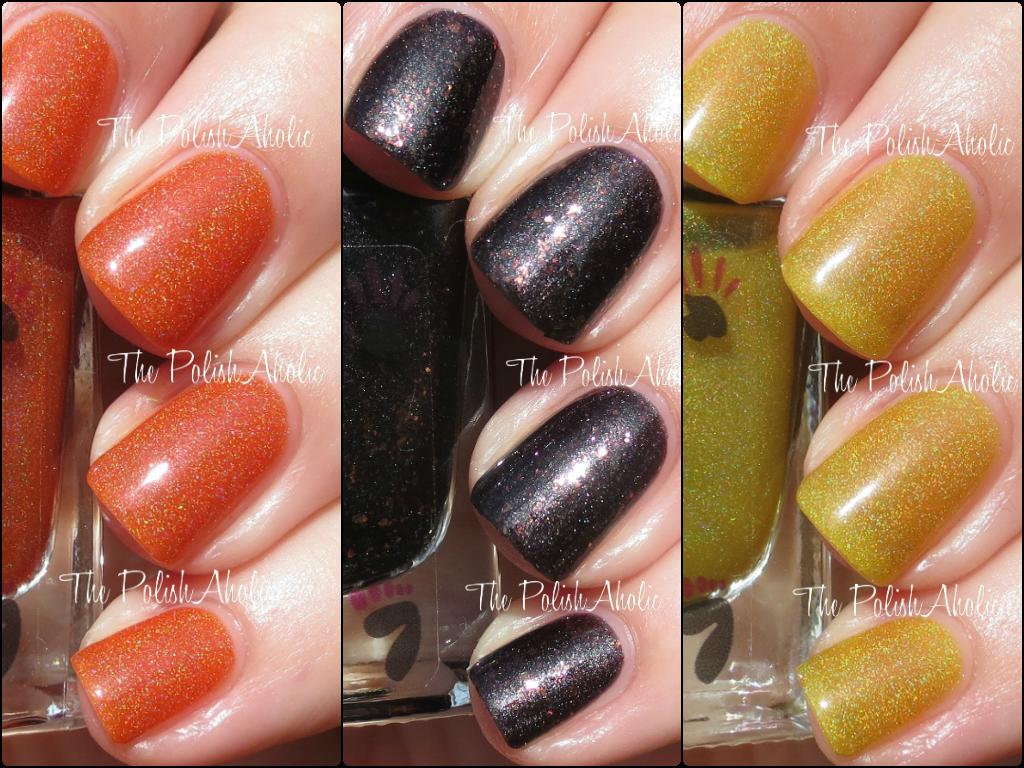 The PolishAholic: Colors by Llarowe Halloween 2014 I Love Candy Corn ...