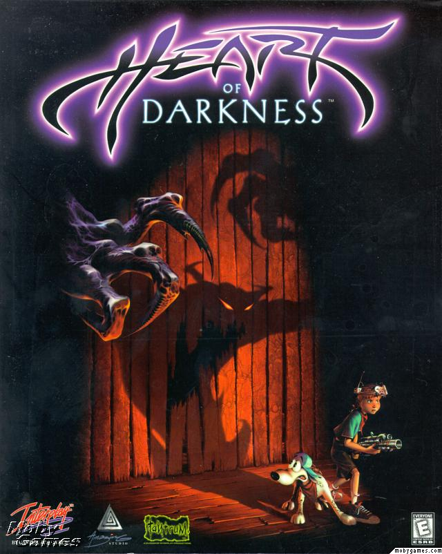 What was your first videogame? Heart_of_darkness_frontcover_large_B7ZIzDkk1uy7vAi