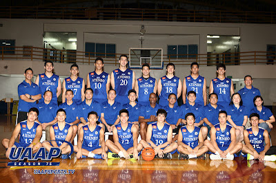 The Past and the Spurious: UAAP Season 75: Ateneo de Manila Blue
