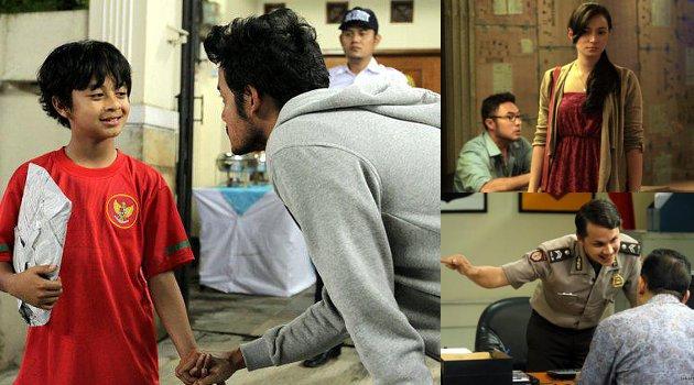 Bastian Coboy Junior Syuting Bareng Dwi Sasono