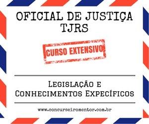 Curso para Oficial de Justiça TJRS