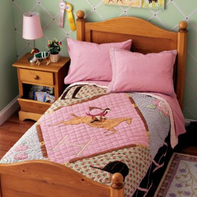 horse theme bedding girl bedroom teen room quilt design rustic western