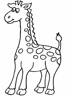 Download Giraffe Printable Coloring Pages