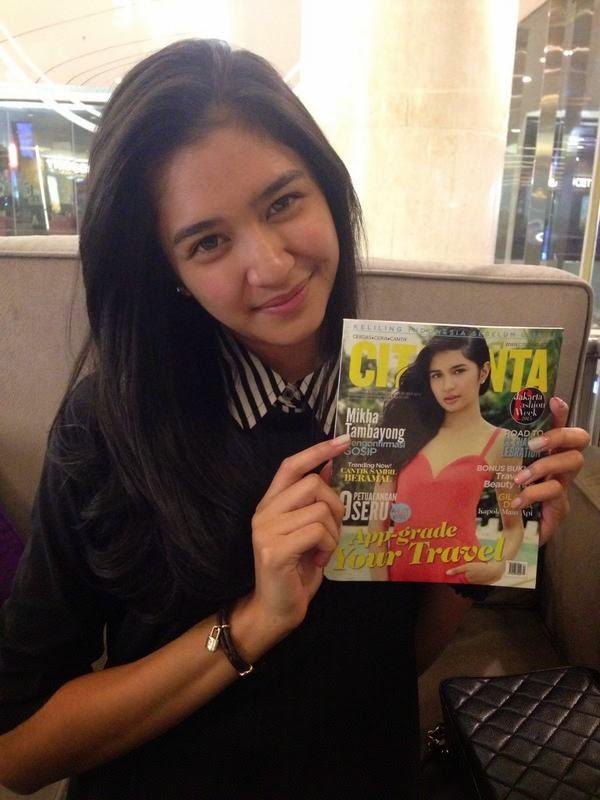 foto mikha tambayong paling terbaru majalah