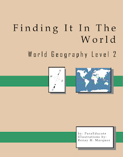 Cover of Finding It In The World: World Geography Level 2