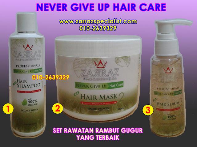 shampoo zarraz, rawatan rambut gugur, petua merawat rambut gugur,