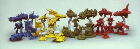 Warhammer 40,000 Forbidden Stars miniatures