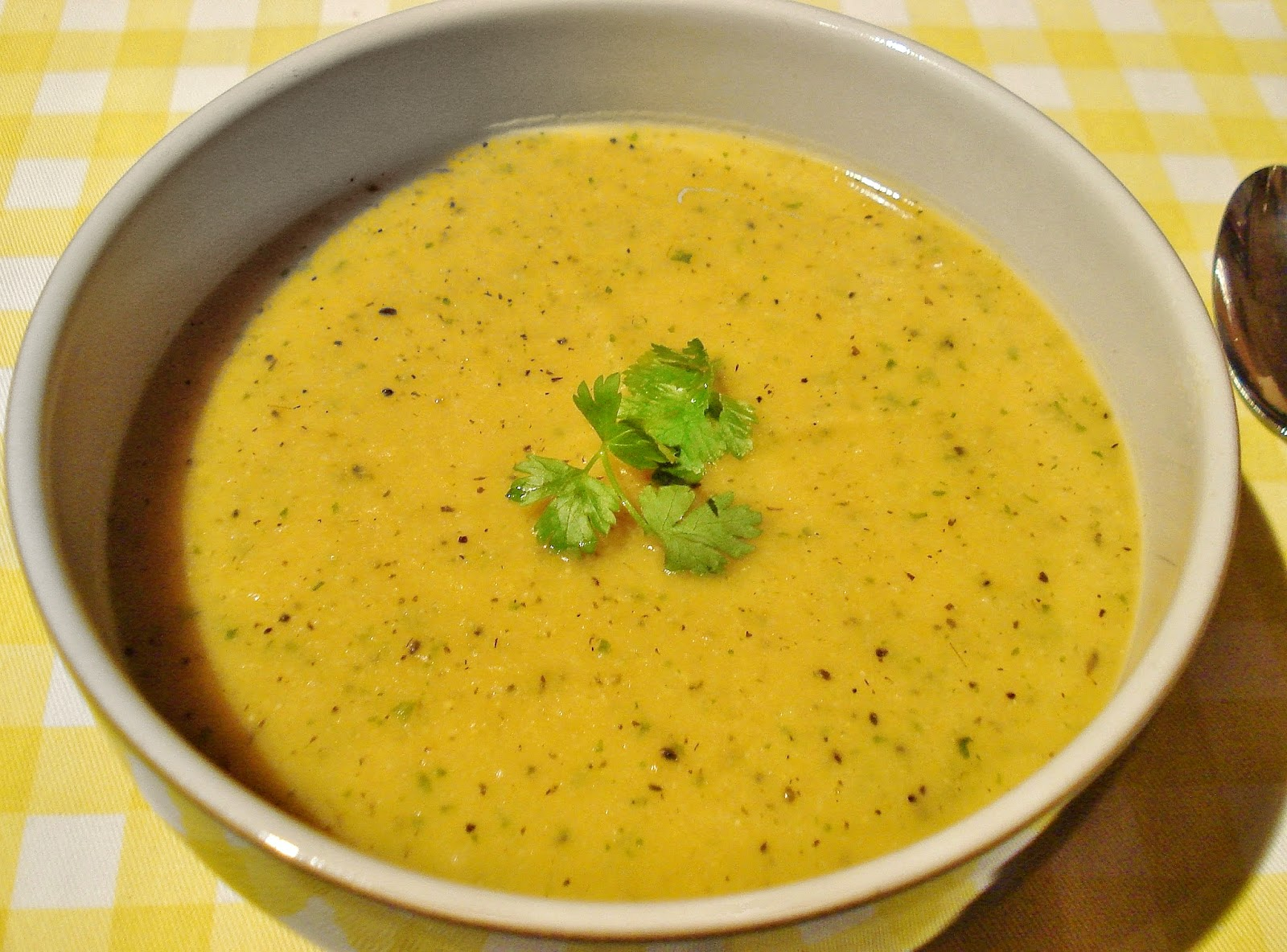 Gluten Free SCD and Veggie: Cauliflower and Lentil Soup GF SCD