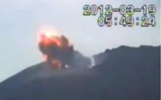 извержение вулкана сакурадзима 2012