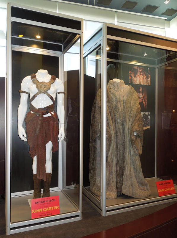 John Carter film costumes