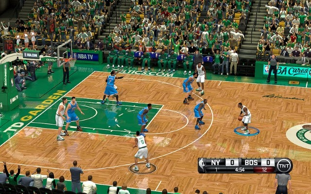 Celtics HD Court | NBA 2K14 PC Mod