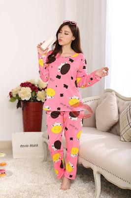 Model Baju Tidur Wanita Piyama Import