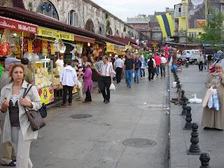 На пазар в Турция