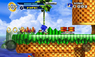 Download Game Sonic The Hedgehog 4 v1.3 Episode 1 APK + DATA Android Gratis
