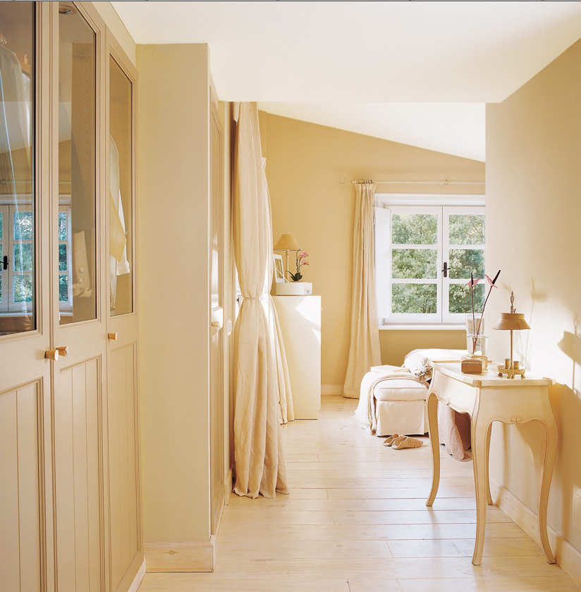 Casa tr s chic closets e banheiros - Cortinas para pasillos ...
