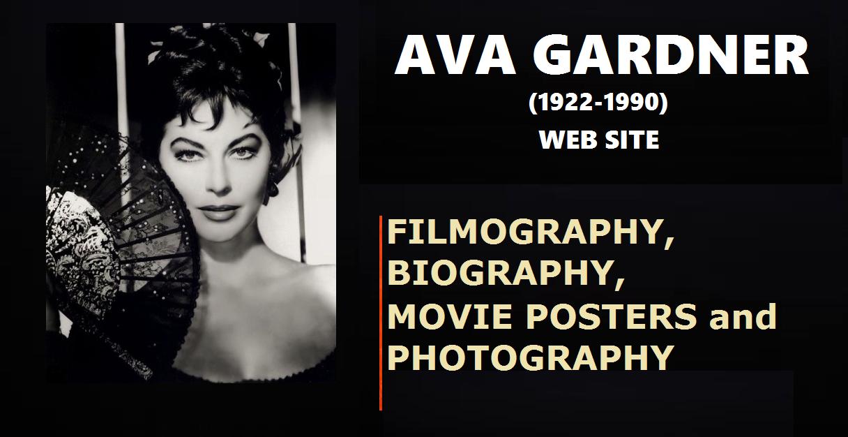 AVA GARDNER WEB SITE