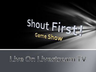 Shout First! Game Show Logo
